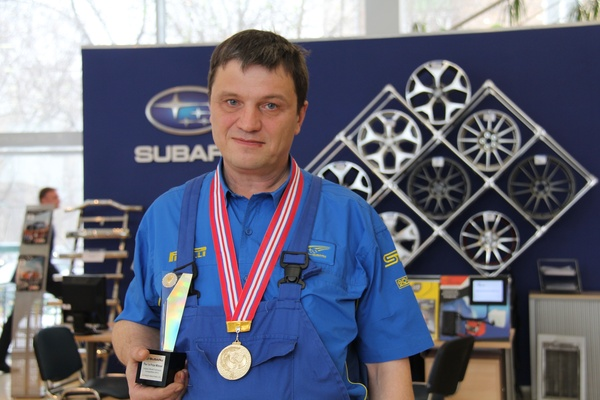 Лучший технический специалист Subaru работает в России